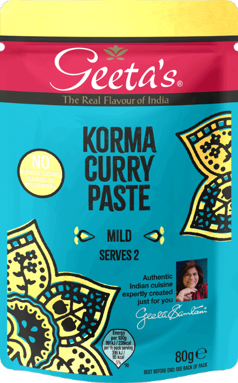 Geetas Korma Curry Paste
